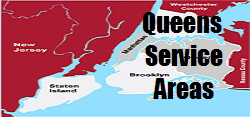Queens Boiler Repairs Service Areas, 718-373-3030